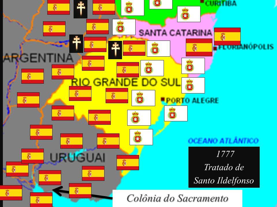 1777 Tratado de Santo Ildelfonso