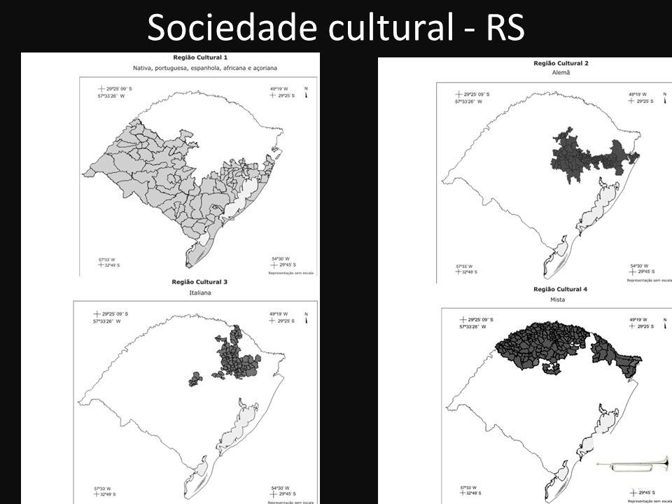 Sociedade cultural - RS