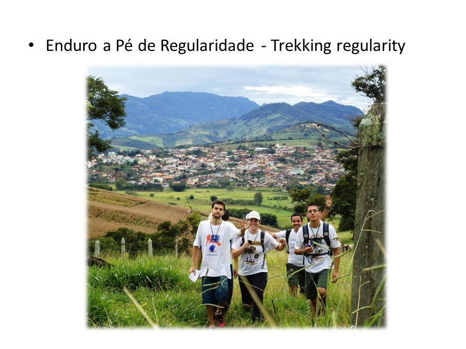 Enduro a Pé de Regularidade - Trekking regularity