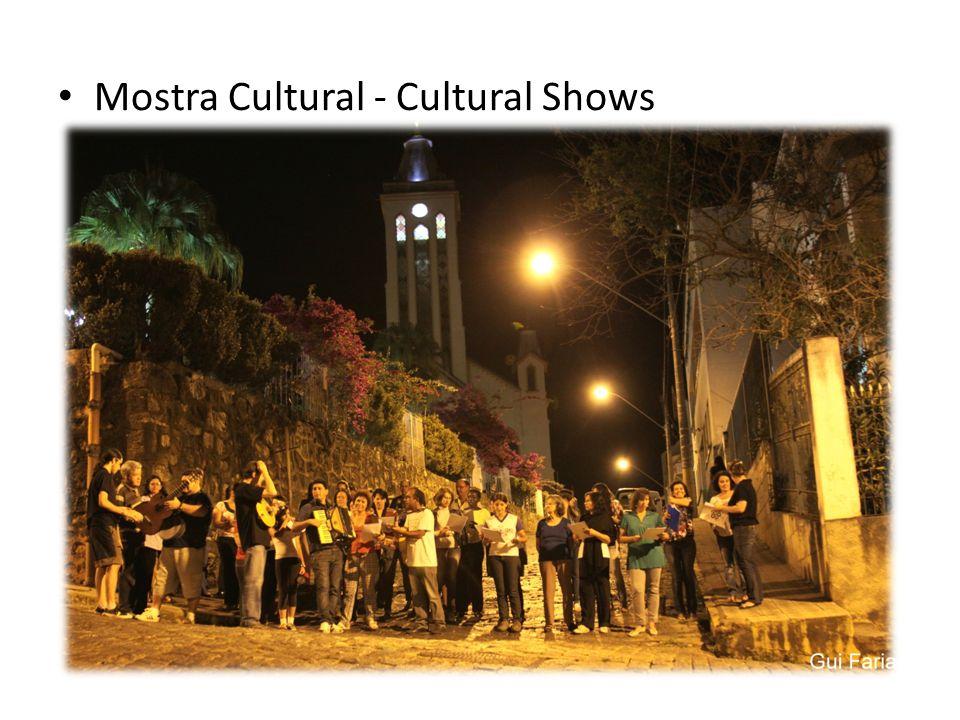 Mostra Cultural - Cultural Shows