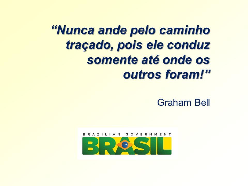 Nunca ande pelo caminho traçado, pois ele conduz somente até onde os outros foram! Graham Bell