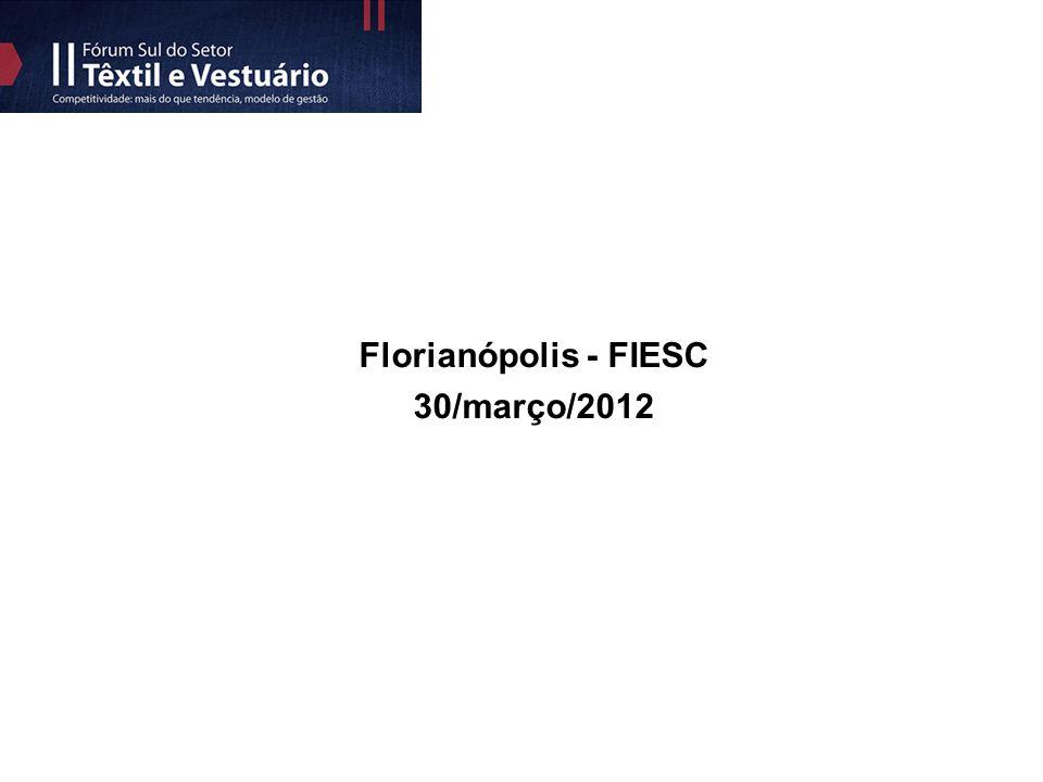 Florianópolis - FIESC 30/março/2012