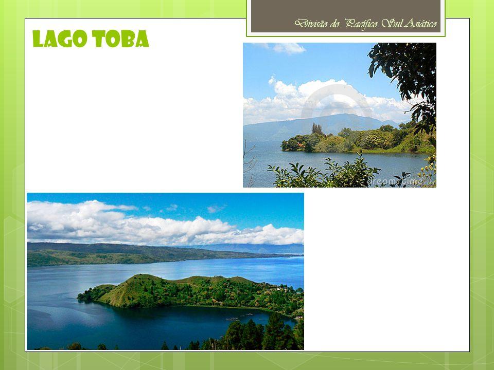 Lago toba Divisão do Pacífico Sul Asiático
