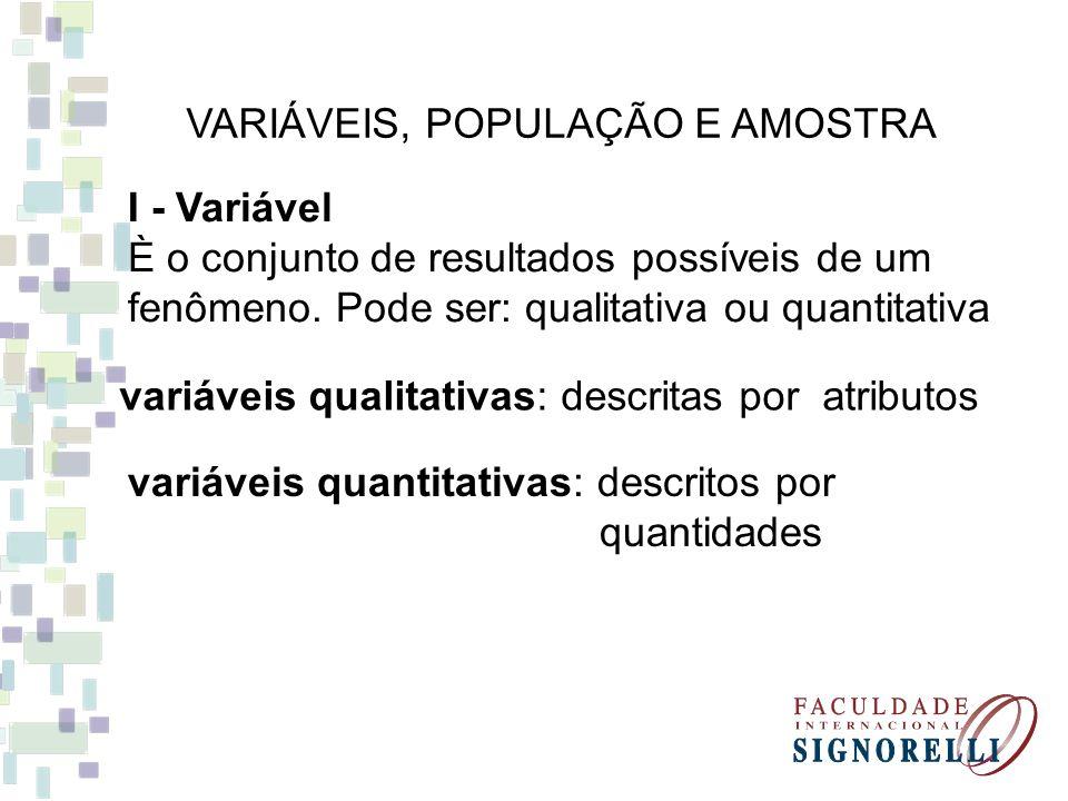 As variáveis quantitativas podem ser divididas ainda em variáveis contínuas e variáveis discretas.