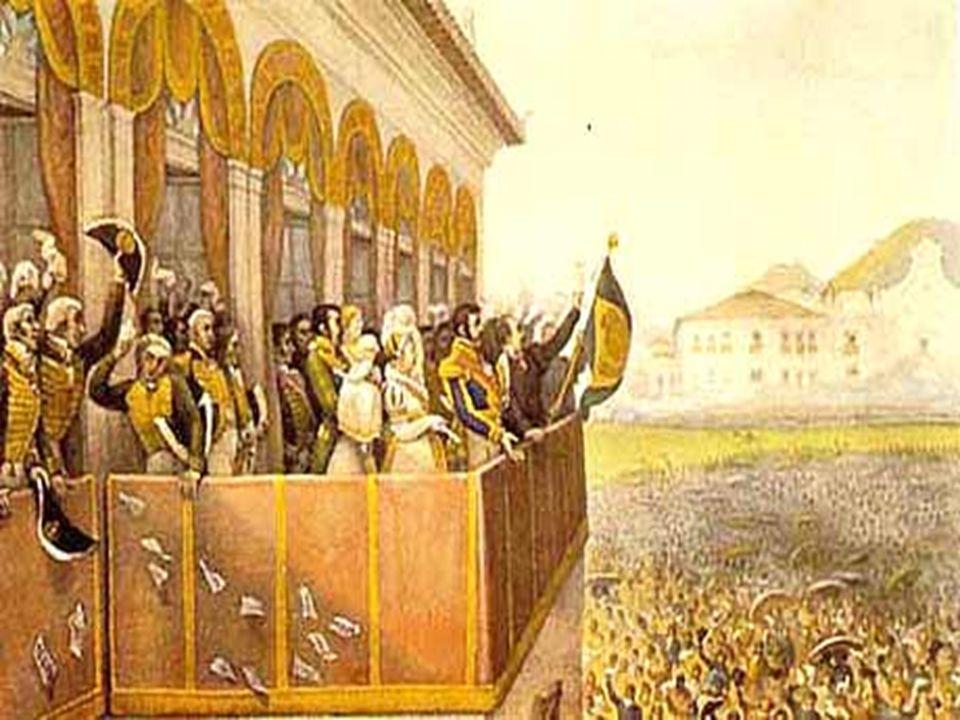 A BDICAÇÃO DE D.P EDRO I (7 DE A BRIL DE 1831) D.
