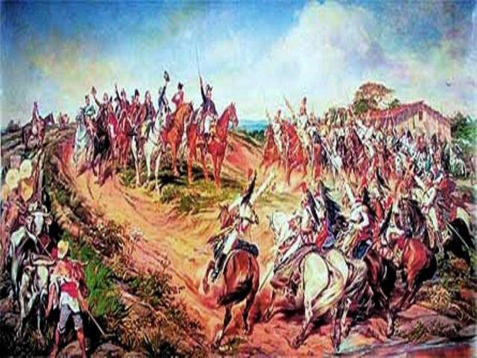 Crise politica: aproximação do Imperador aos membros do Partido Português que queriam totais poderes ao monarca, fez um novo ministério com maioria desses membros, frente aos representantes do Partido Brasileiro que queriam limitações a soberania de D.