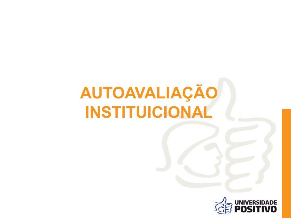 AUTOAVALIAÇÃO INSTITUICIONAL