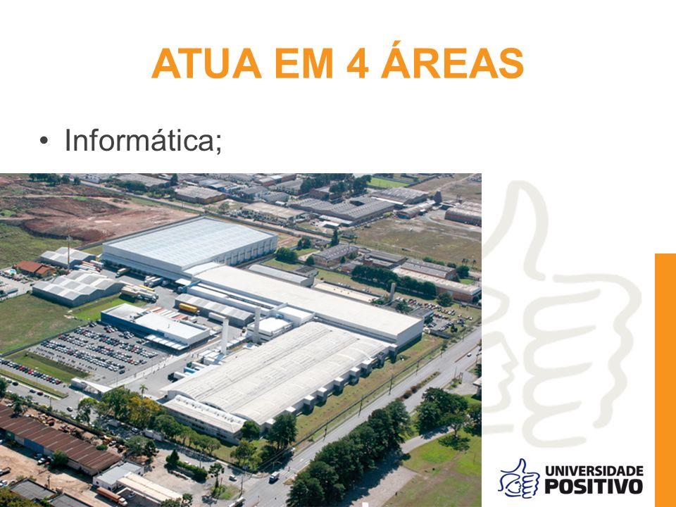 ATUA EM 4 ÁREAS Informática;