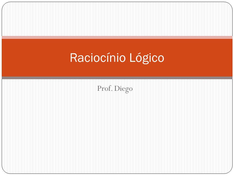 Prof. Diego Raciocínio Lógico