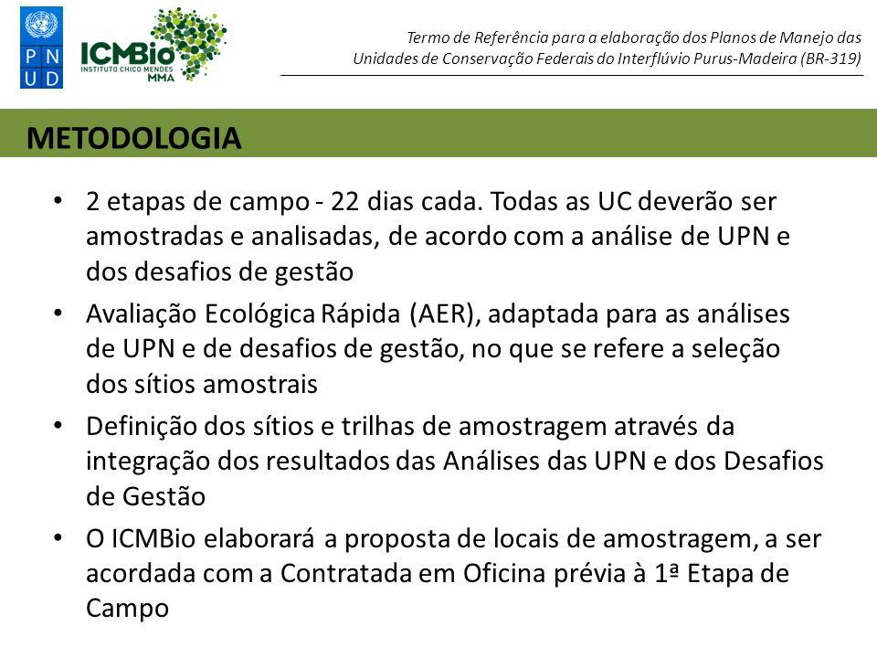 A CONTRATADA receberá a Base Cartográfica e SIG para a área do Interflúvio e para cada uma das 11 UC: Mapa de Localização e Sociopolítico.