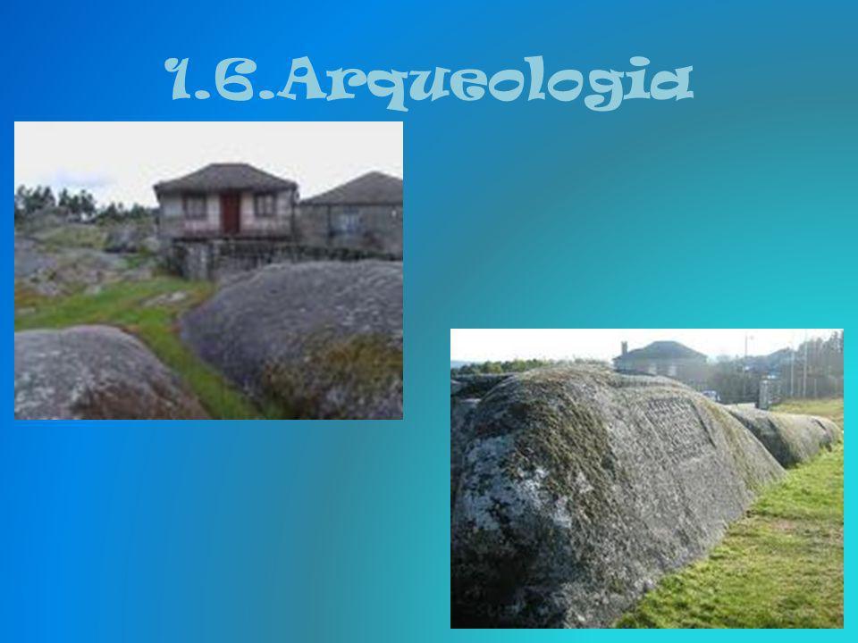 1.6.Arqueologia Vila Real é um importante centro arqueológico. O local arqueológico mais conhecido é o Santuário de Panóias, também designado por Frag