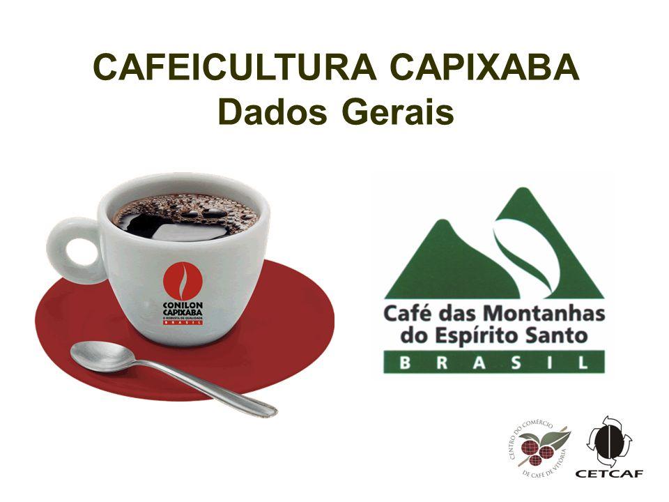 CAFEICULTURA CAPIXABA Dados Gerais