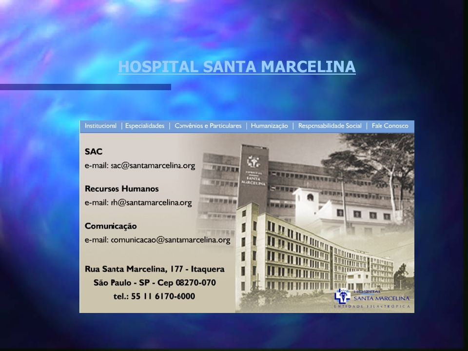 HOSPITAL SANTA MARCELINA
