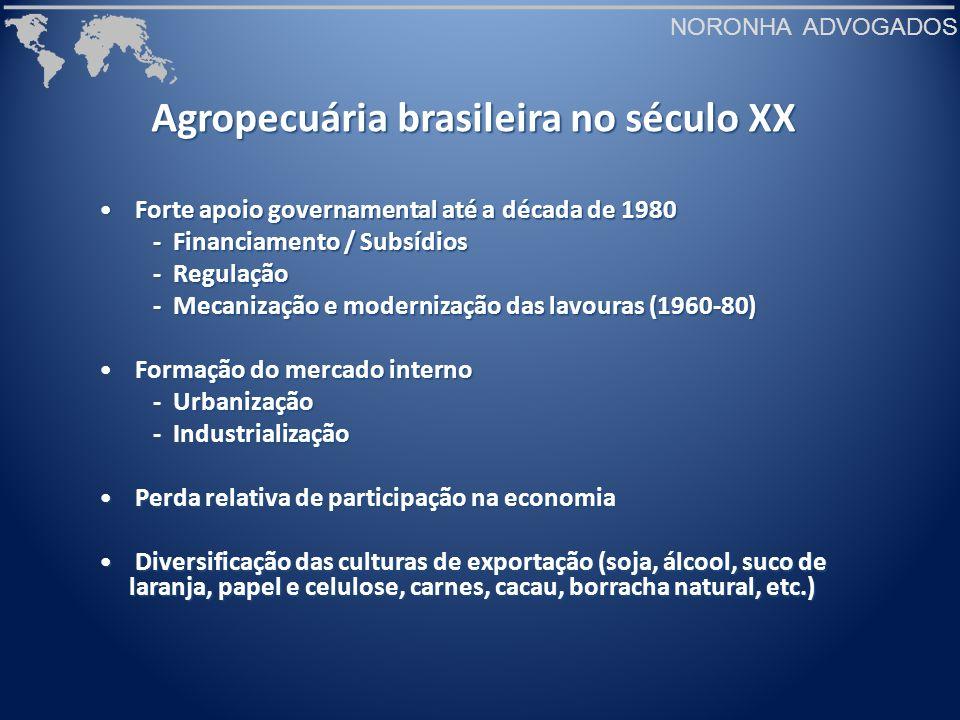 NORONHA ADVOGADOS Processo de urbanização e industrialização na segunda metade do século XX Fonte: IBGE apud Massilon J.