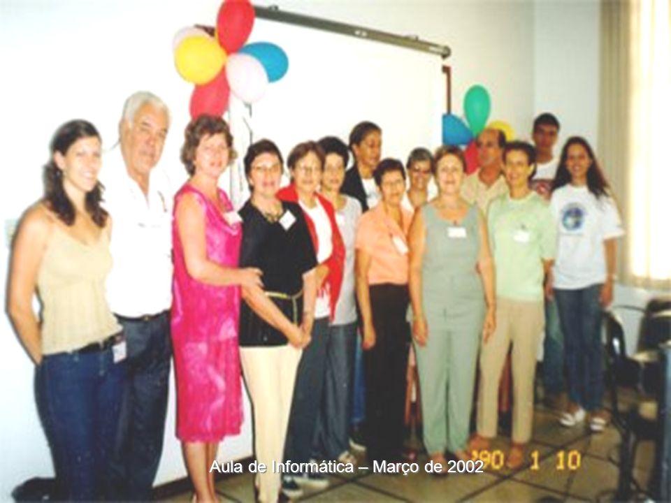 Aula de Informática –11 de abril de 2002