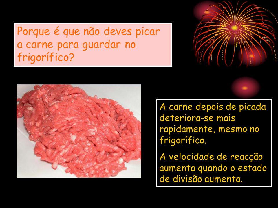 Porque é que não deves picar a carne para guardar no frigorífico? A carne depois de picada deteriora-se mais rapidamente, mesmo no frigorífico. A velo