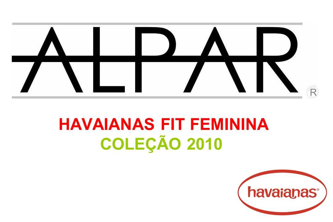 HAVAIANAS FIT FEMININA COLEÇÃO 2010
