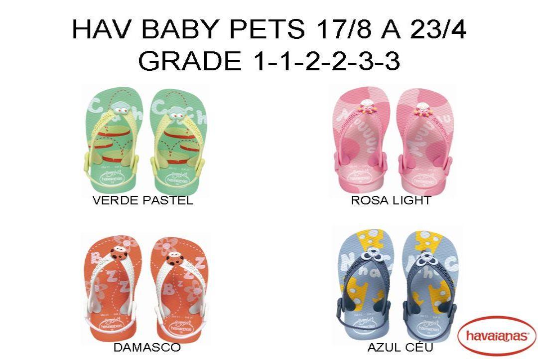 HAV KIDS SURF JUVENIL 29/0 AO 35/6 grade 2-2-4-4 Azul Bebê Preto Vermelho Rubi