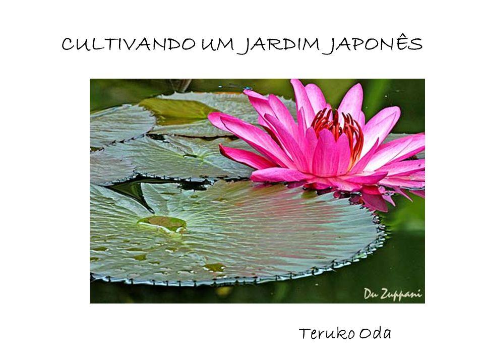 CULTIVANDO UM JARDIM JAPONÊS Teruko Oda