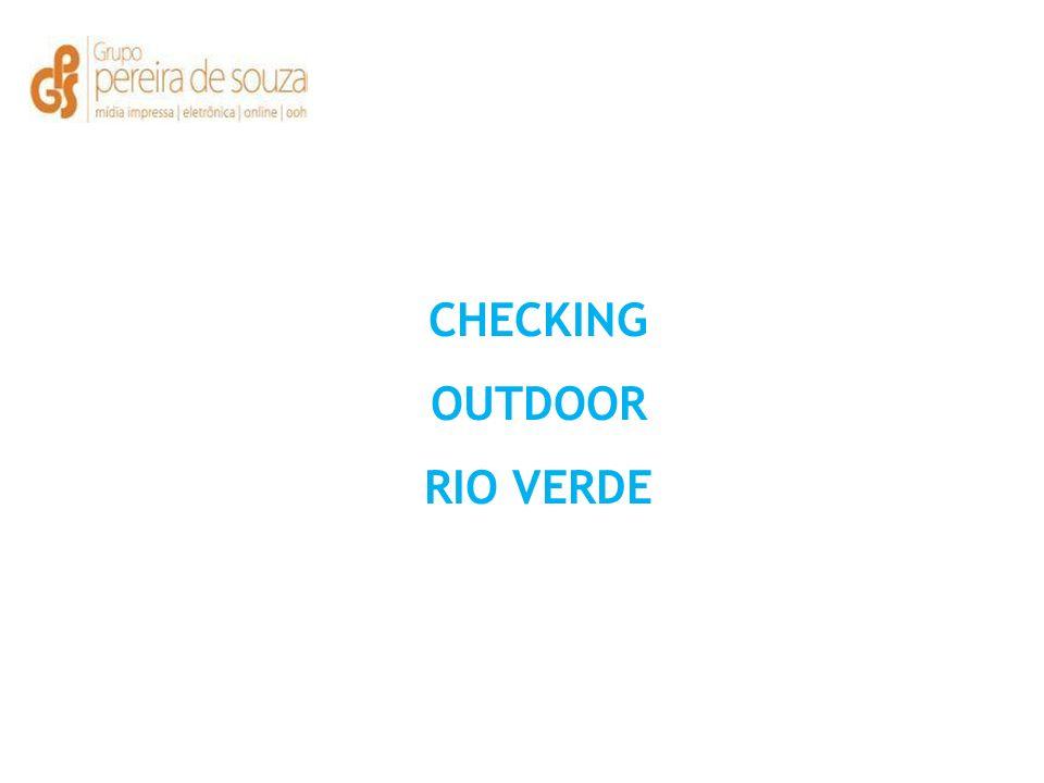 CHECKING OUTDOOR RIO VERDE