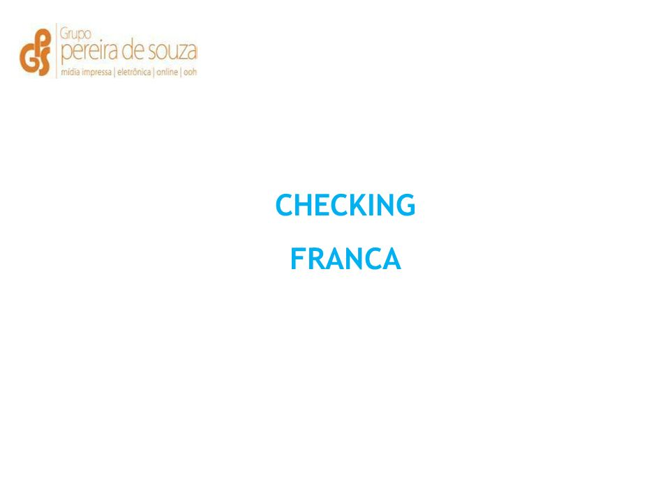 CHECKING FRANCA