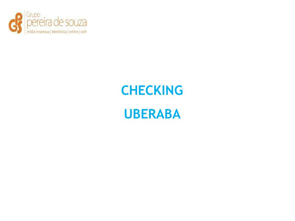 CHECKING UBERABA