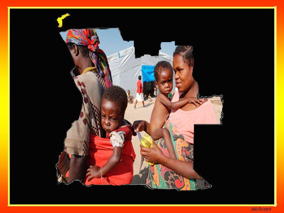 Extensão Territorial: 1,247,000 Km² Localizada na costa Atlântica do Sul da África, Angola faz fronteira com a República da Namíbia ao sul e a Repúbli