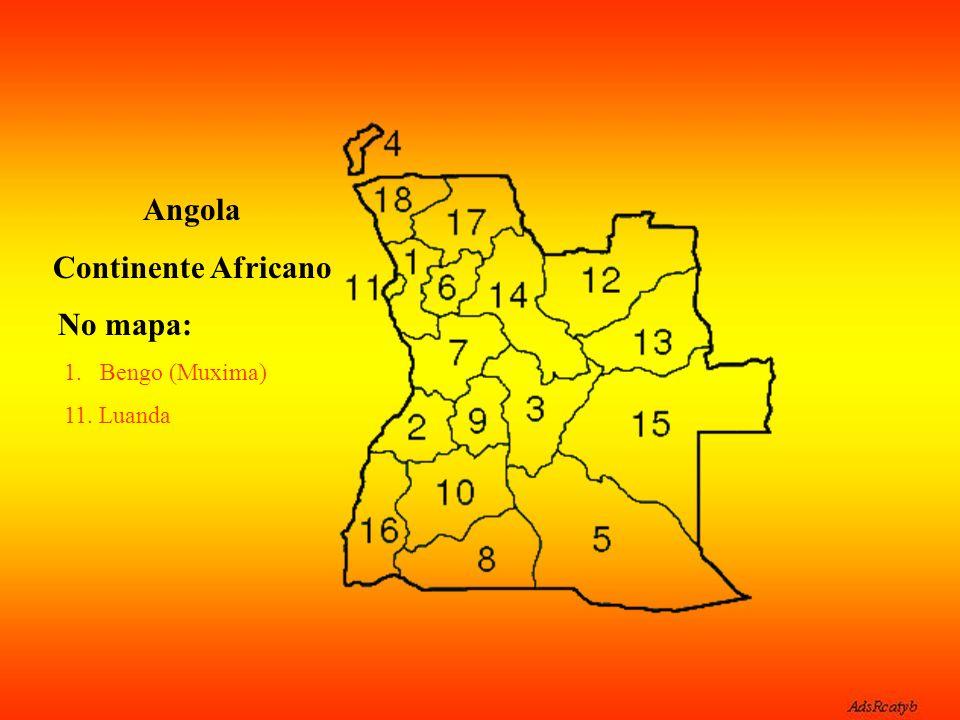 Lugar que deu nome a esta bela música do cantor angolano.