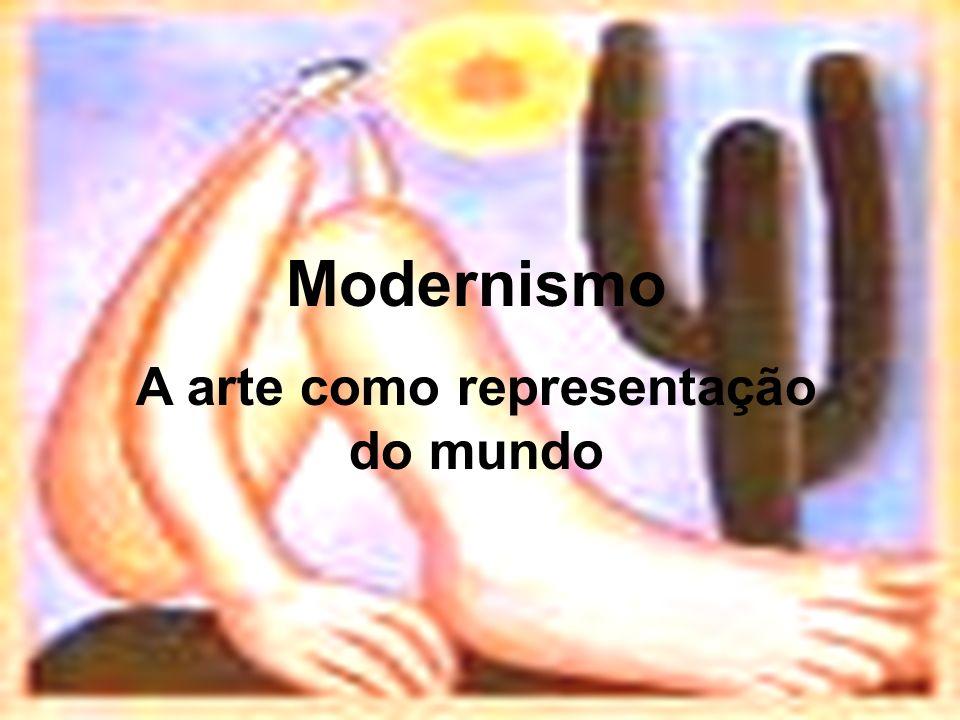 Modernismo A arte como representação do mundo
