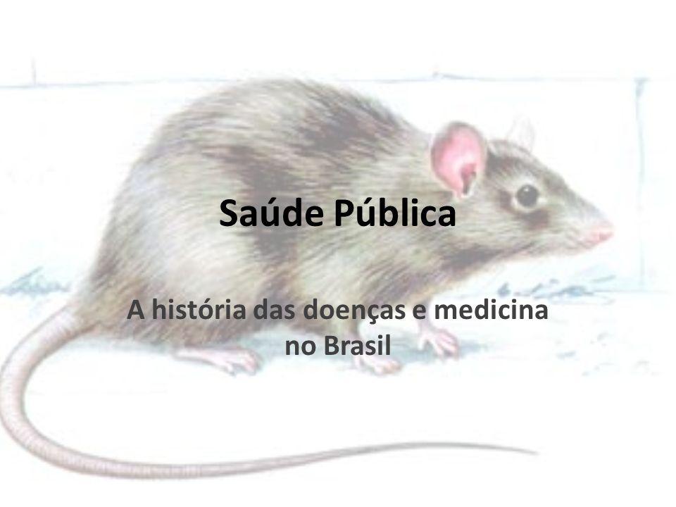 Saúde Pública A história das doenças e medicina no Brasil