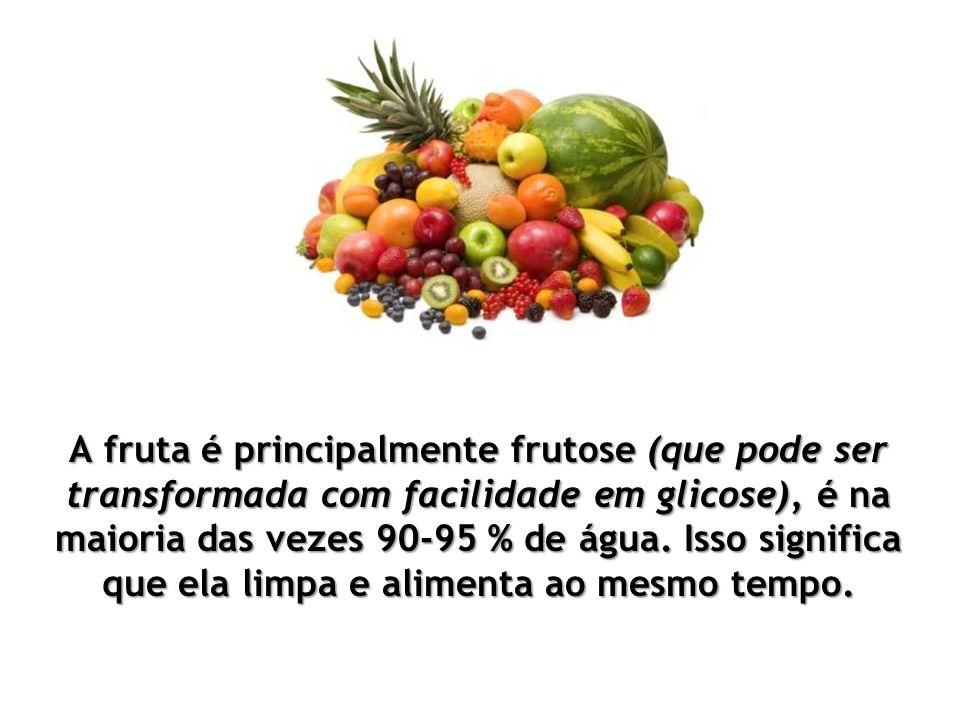 O único problema com a fruta, é que a maioria das pessoas não sabe como comê-la de forma a permitir que o corpo use efectivamente os seus nutrientes.