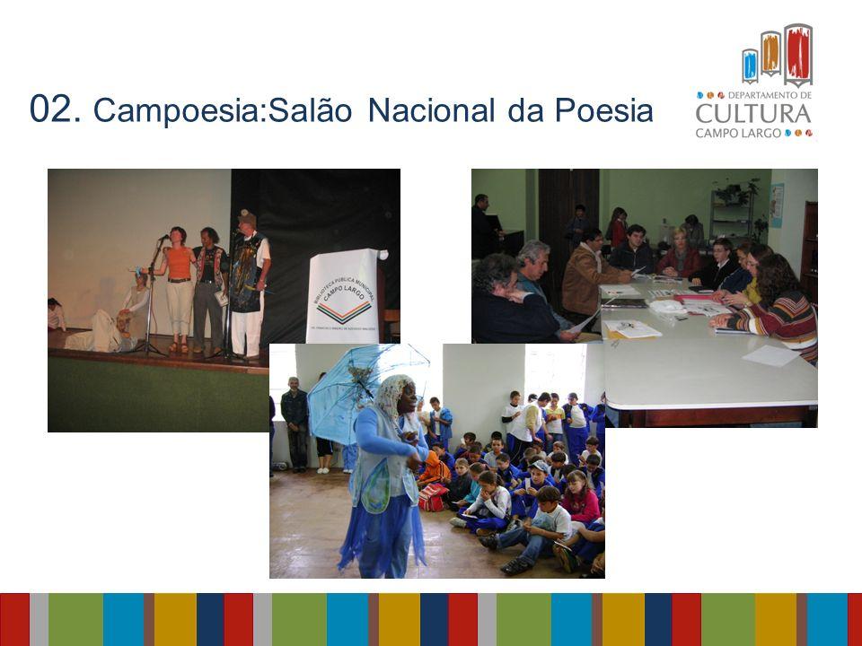 02. Campoesia:Salão Nacional da Poesia