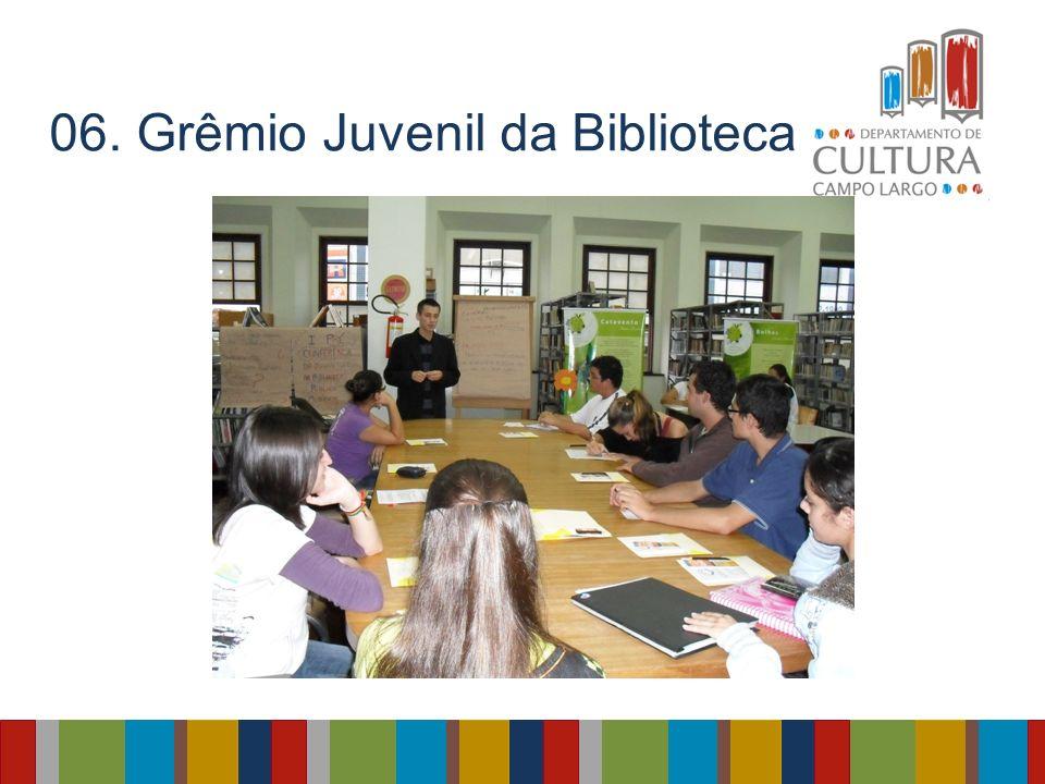06. Grêmio Juvenil da Biblioteca: