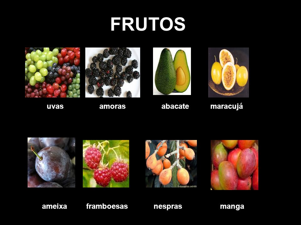FRUTOS ananás/abacaxiameixaamorasanona bananascerejasfigosframboesa figos cerejas bananas melão pera(s) morango(s) melancia pêssegos maçãs/peros romã