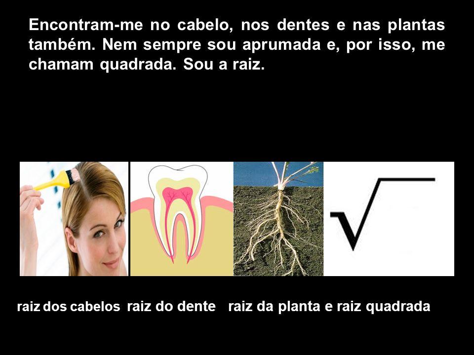 Encontram-me no cabelo, nos dentes e nas plantas também.