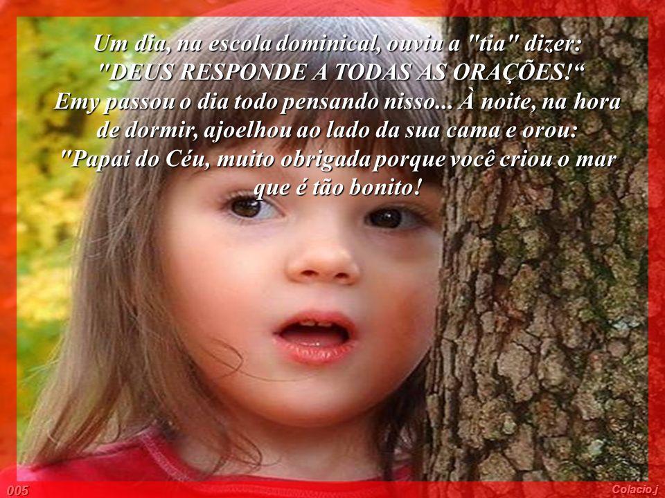 Ela amava sua família e admirava os olhos azuis de seu pai, sua mãe e seus irmãos... Todos na casa de Emy tinham olhos azuis... Todos... MENOS.... Emy