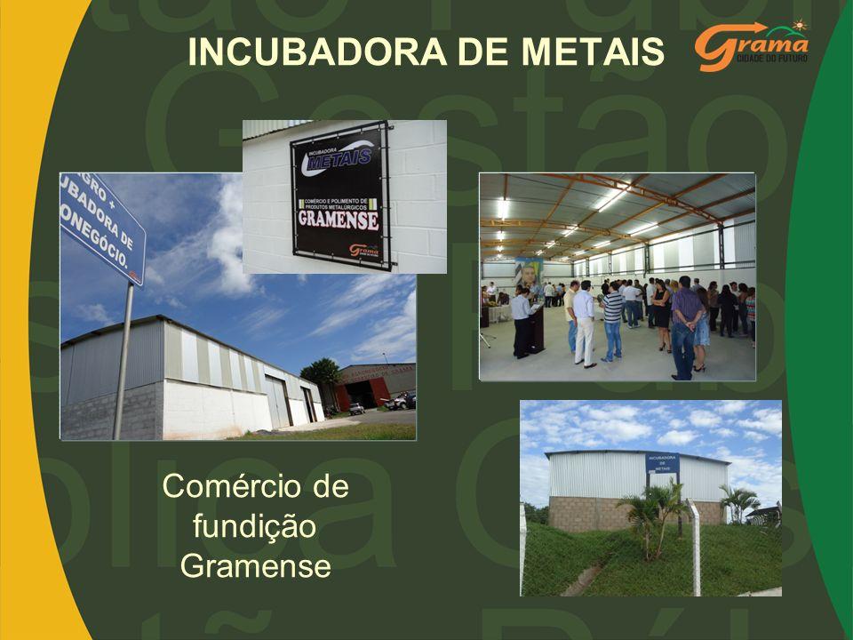 INCUBADORA DE METAIS Comércio de fundição Gramense