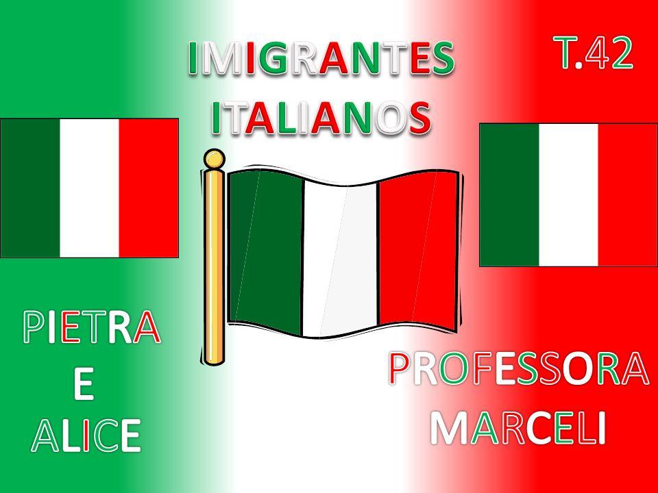 Como e porque vieram Como e porque vieram Os imigrantes italianos vieram para cá junto de muitos outros povos.