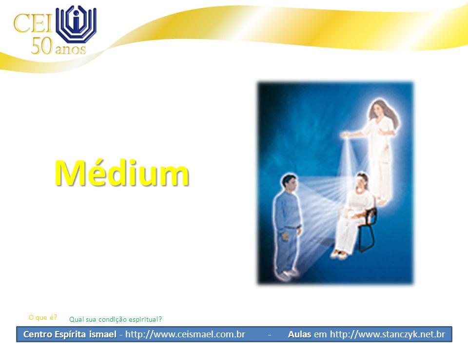 Centro Espírita ismael Aulas Centro Espírita ismael - http://www.ceismael.com.br - Aulas em http://www.stanczyk.net.br Pensamento e Mediunidade Questão de sintonia Questão do perispíritoQuestão fisicaInterferência dos pensamentos externos