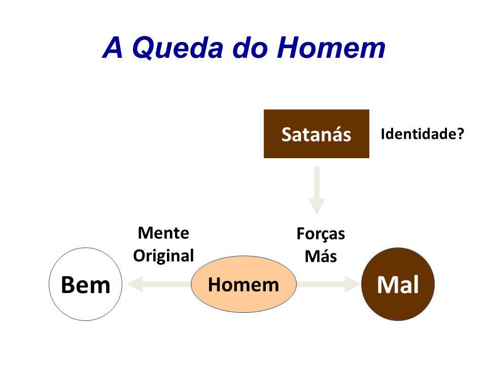 Mente Original Bem Identidade? Mal Homem Satanás Forças Más