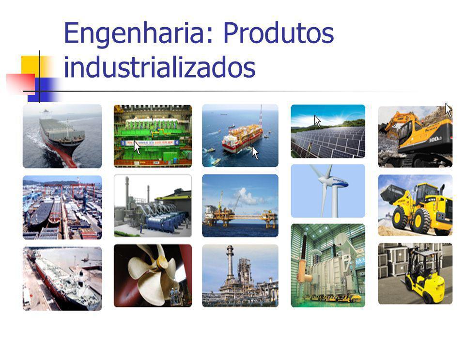 Engenharia: Produtos industrializados