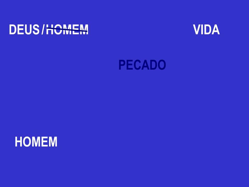 HOMEM PECADO DEUS HOMEM /VIDA