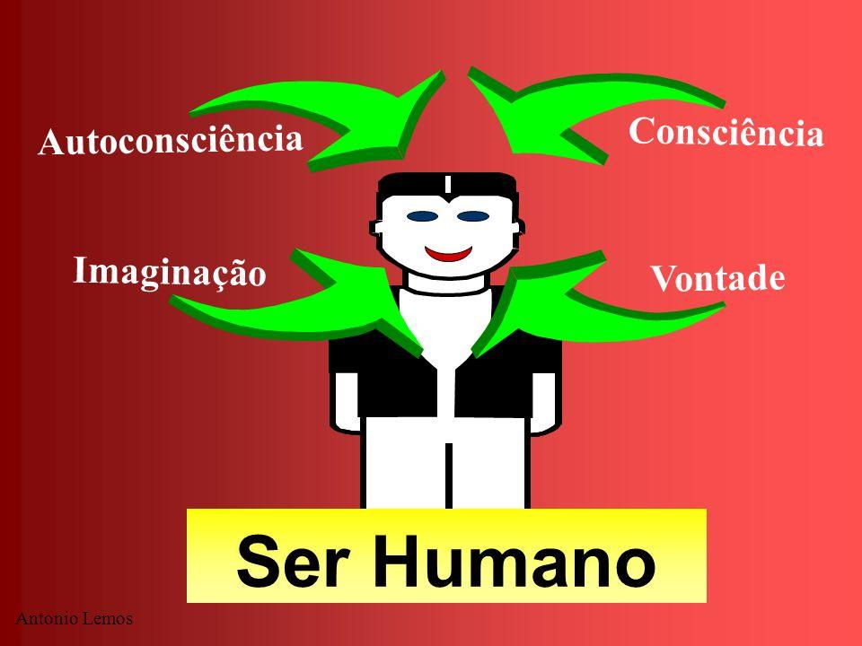 Antonio Lemos Ser Humano Autoconsciência Consciência Imaginação Vontade