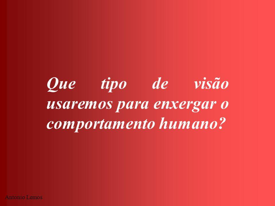 Antonio Lemos Que tipo de visão usaremos para enxergar o comportamento humano?