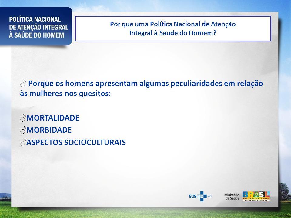 MORTALIDADE -A cada 3 pessoas que morrem no Brasil, 2 são HOMENS.