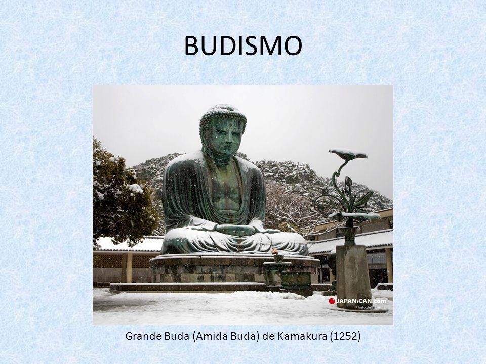 BUDISMO Grande Buda (Amida Buda) de Kamakura (1252)