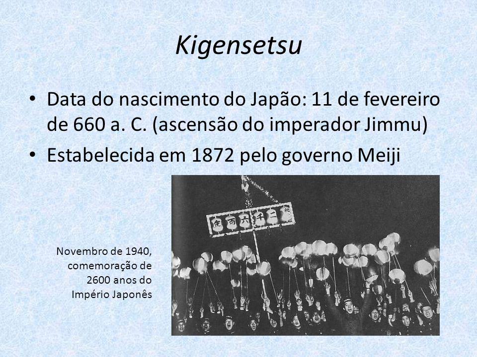 Kigensetsu Data do nascimento do Japão: 11 de fevereiro de 660 a.