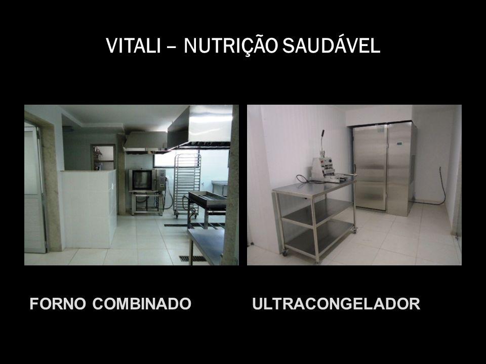 VITALI – NUTRIÇÃO SAUDÁVEL FORNO COMBINADOULTRACONGELADOR