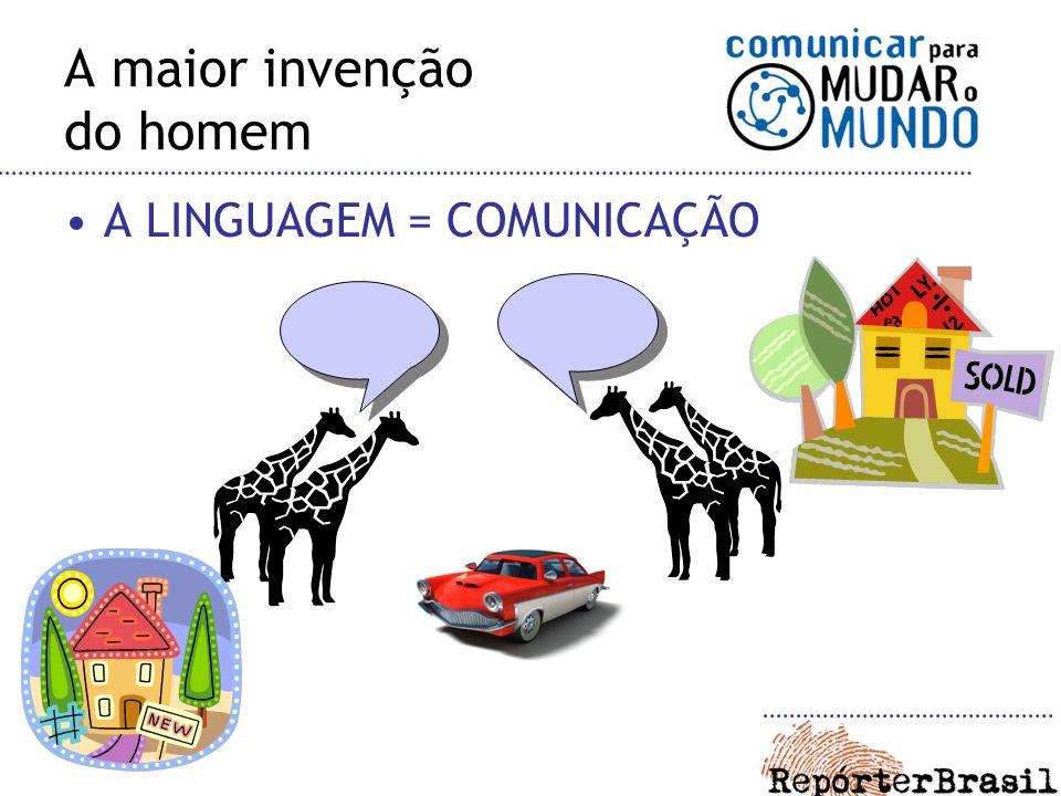 A LINGUAGEM = COMUNICAÇÃO