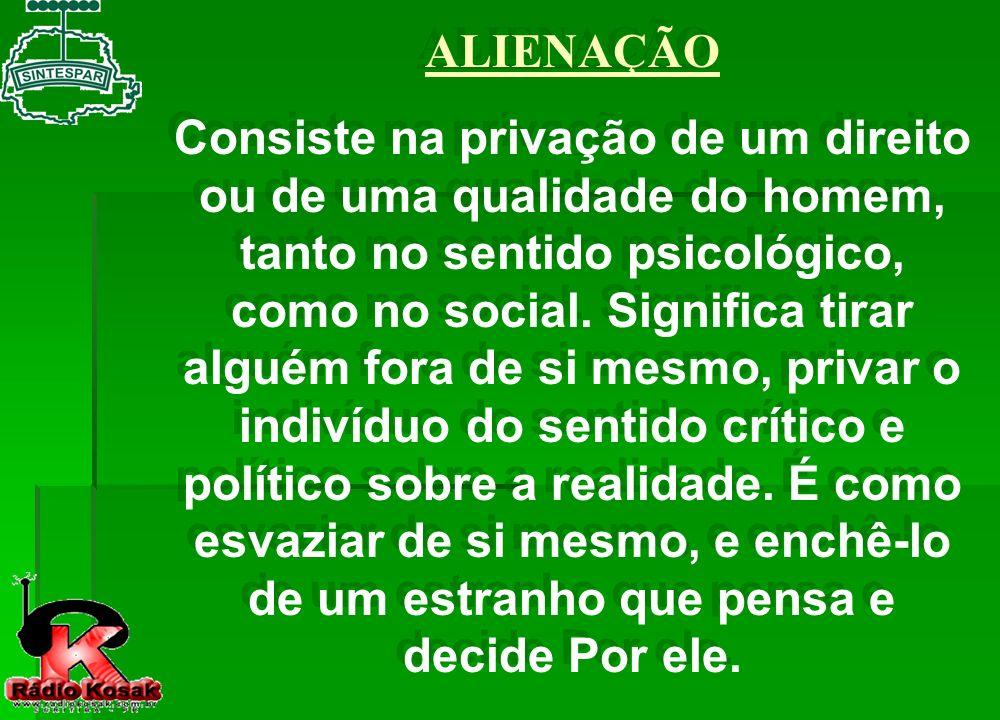 A FORMAÇÃO DO PROLETARIADO, OU OPERARIADO.